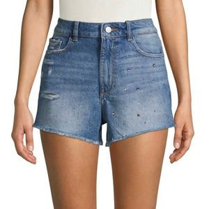 """NWT - DL1961 """"Cleo"""" High Rise Shorts - size 31"""